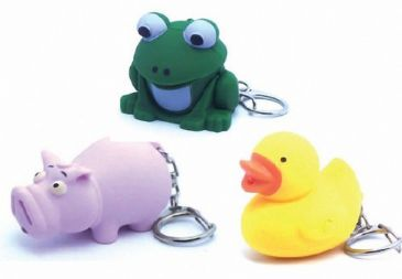 Animal LED Keyring Accessory Kids Camping Torch